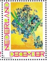 Persoonlijke December Postzegel Mobiele OKI 531 Eindejaarsbeurs 2013 Vincent Van Gogh Still Life Vase With Irises - Netherlands