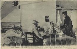 """101-WWI - Entre Frères D'Armes-jeune Officier Belge Offrant Des Cigarettes à Un """" Vitrier """" .. - Belgique"""