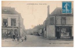 CPA - COURTOMER (Orne) - Route De Sées (Magasins LAPORTE, Sabotier Et BOSSARD) - Courtomer