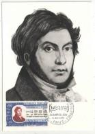 CM - Carte Maximum Card - 1972 - YT 1734 - Champollion - Cartes-Maximum