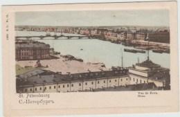 ST PETERSBOURG (RUSSIE) - VUE DE NEVA - Russia