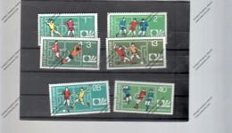 BULGARIA Nº 2077 AL 2082 - Copa Mundial