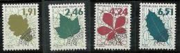 """Préo YT 232 à 235 """" Préo Feuilles D´arbres I """" 1994 Neuf **"""