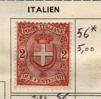 ITALIE - ANCIENNE COLLECTION - Mint/hinged