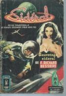 SIDERAL  N° 5 - F. RICHARD BESSIERE   - AREDIT 1969 - Arédit & Artima