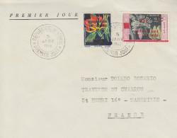 Enveloppe  FDC  1er  Jour   GUINEE     INDEPENDANCE    1959 - Guinée (1958-...)