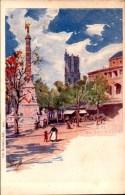 Paris, Lot De 9 Cartes Illustrateur, Signe Vignol    (etat Bon 1 Carte Voir Photos) - Otros