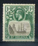 SAINTE-HELENE  ( POSTE )  : Y&T  N°  58  TIMBRE  NEUF  AVEC  TRACE  DE  CHARNIERE  ,   VOIR . - Saint Helena Island