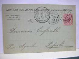 ANCONA   ---   ARTHUR  OULMANN E CO..  S.A. - Ancona