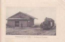 45. Chateauneuf-sur-Loire. La Gare Et Le Tramway - France