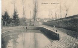 ( CPA 95 )  LOUVRES  /  L'Abreuvoir  - - Louvres