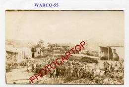 WARCQ-Concert-Musique-CARTE PHOTO Allemande-Guerre 14-18-1 WK-France-55- - France