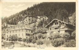 Schweiz, 1915, Leysin Le Fedey, Nach Steffisburg, Siehe Scans! - Switzerland