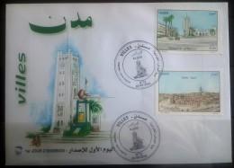 Algeria NEW 2016 FDC - Algerian Cities - Mostaganem - Djelfa - Algeria (1962-...)