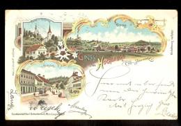 Gruss Aus Hochenegg B Cilli - Steiermark / Litho., Year 1898 / Circulated Long Line Postcard - Slovenië