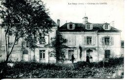 N°145 G -cpa Le Sap -château Du Costil- - France