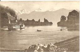Schweiz, 1922, Bei Scherzligen Thunesee, Berner Alpenbahn, Interlaken Nach Steffisburg, Siehe Scans! - Switzerland
