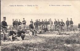 Camp De Beverloo - Champ De Tir - 1906 - Manoeuvres