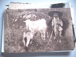 Azië Asia China Chine Swatow Boy With Goats - China