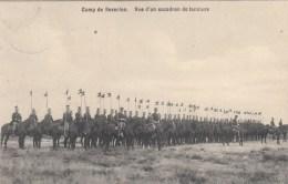 Camp De Beverloo - Vue D'un Escadron De Lanciers - Manoeuvres
