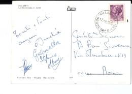 Q3474 Annullo Storia Postale FRAZIONE: VILLABRUNA ( Comune Di Feltre, Prov. Di Belluno ) Su Cartolina Delle Dolomiti - 6. 1946-.. Repubblica