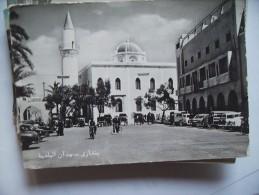 Libië Libya Benghazi Tripoli Square - Libië