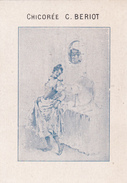 CHICOREE C. BERIOT - A LA BELLE JARDINIERE - FEMME DEVANT MIROIR - Thé & Café