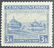 CARPATHO-UKRAINE 1939