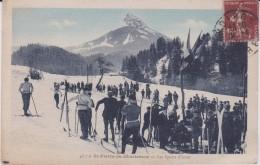 Isère :  ST  Pierre  De  Chartreuse :  Les   Sports D ' Hiver (  Ski) - Ohne Zuordnung