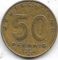 50 PFENNIG RDA 1950 A - Non Classés