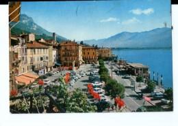 Q3517 Cartolina Della Lombardia - LOVERE (bergamo) Lago D' Iseo + Auto Cars Voitures _ VIAG. 1975 - Italia