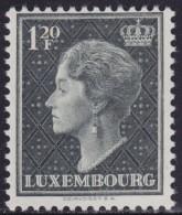 4810. Luxembourg 1953 Definitive - Charlotte, MNH (**) Michel 511 - 1948-58 Charlotte De Profil à Gauche