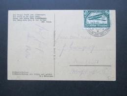 DR 1921 Künstlerkarte Kyffhäuser Gebirge. Michel Nr. 112 Mit Sonderstempel 19. Juni 1921. Schöne Karte - Deutschland