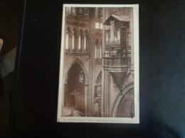 57 Metz Carte Postale La Cathédrale Nef Petites Orgues (1537) - Metz