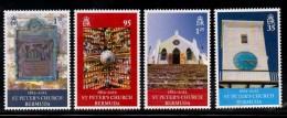 2012 Bermuda  St. Mary's Church  Complete Set Of 4 MNH - Bermuda