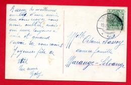 Cachet  Grosz-Moyeuvre ( Moyeuvre-Grande) Du 18.12.1911 Sur CP Femme En Lecture - Marcophilie (Lettres)