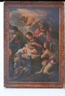 Q3543 Cartolina Del Lazio - MONTECASSINO (frosinone) La Sacra Famiglia Di P. De Mattheis _ Pittura E Quadri - Altre Città
