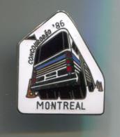 Coaches & Buses, Bus Vehicles Fahrzeuge, Pin Badge, Abzeichen, Enamel - Trasporti