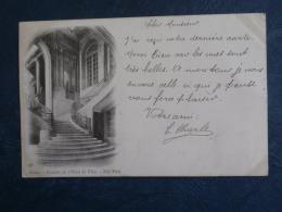 Nancy  Escalier De L'Hotel De Ville - ND 38 - Précurseur - Circulée 1902 - L269 - Nancy