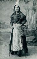 N°163 G -cpa Ancienne Coiffe De Mortagne (Orne) - Costumes