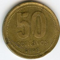 Argentine Argentina 50 Centavos 1992 KM 111.1 - Argentine