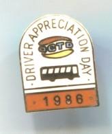 Driver Appreciation Day -  Bus Vehicles Fahrzeuge, Pin Badge, Abzeichen, Enamel - Trasporti