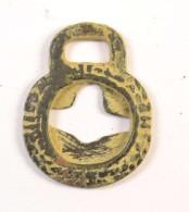 Ancienne Médaille / Boucle Agraffe Galloromaine à Identifier, Romain ? Gaulois ? Médiéval ? - Archeologia