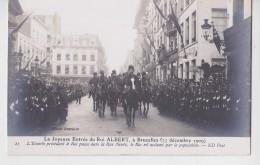 BRUXELLES JOYEUSE ENTREE ROI ALBERT 23/12/1909 - Manifestations