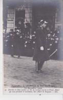 BRUXELLES FUNERAILLES DU ROI LEOPOLD II 22/12/1909 CLICHE FILLATRE PRINCE ALBERT - Funérailles