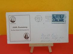 FDC - B.Franklin, 100th Anniversary Philatélic - New York. N.Y  - 21.5.1947 - 1er Jour, - Etats-Unis