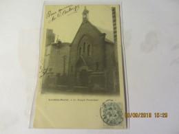 Cpa LEVALLOIS - PERRET (92) Le Temple Protestant - Levallois Perret