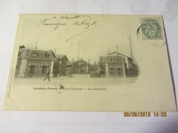 "Cpa LEVALLOIS - PERRET (92) Place Collange - Les  Abattoirs  ""avant 1903"" - Levallois Perret"