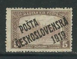 TCHECOSLOVAQUIE  N° 93 * - Cecoslovacchia