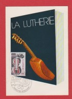La Lutherie  --  8 Dec 1979 - Cartes-Maximum